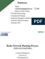 2. Radio Network Planning Process