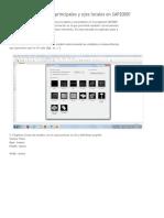 Cómo Identificar Ejes Principales y Ejes Locales en SAP2000