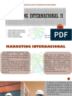 Marketing Internacional II