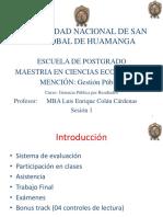 1Gerencia Publica por Resultados Sesion 1 Introducccion, Planeamiento Estrategico, fundamentos de la Gerencia Publica.pptx