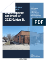 Redevelopment and Reuse of 2222 Oakton St. Request for Qualifications / Request for Proposals