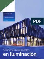 ODLI20160310 001 UPD Es MX Catálogo Luminarios Profesionales INDOOR Mar2016