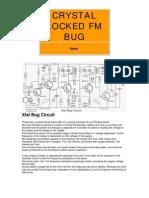 Crystal Locked Fm Bug