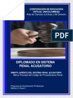 Clase 3. Marco Procesal Del Nuevo Código de Procedimiento Penal