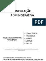 Apresentação Seminário Vinculação Administrativa