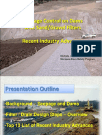 Seepage Control at Dams