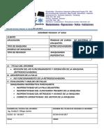 Informe Retroexcavadora Case