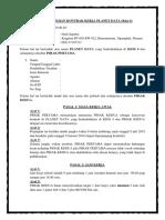 Surat Perjanjian Kontrak Kerja (2)
