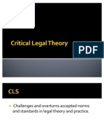 Critical Legal Theory