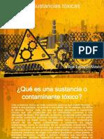 sustancias toxicas- toxicologia