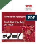 Tuberías y Canalizaciones Cero Halógenos - Daniel Riveros-Kombau