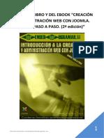 Indice Libro y eBook Curso Aprender Joomla CMS Creacion Paginas Web_JOOMLA_BUENO