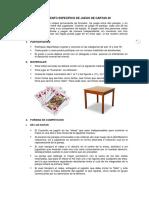 Reglamento Específico de Cartas 40