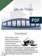Apostila Edição Vídeo