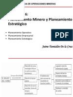 Cap. 5 y 6 Planeamiento Minero y Planeamiento Estrategico