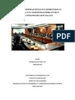 Materi Administrasi Humas Dan Keprotokolan