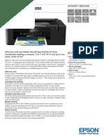 EcoTank ITS L3050 Datasheet