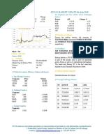 Market Update 9th July 2018