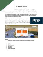 B2B Fleet Portal