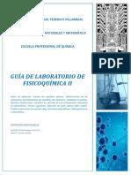 guía de práctica de fisicoquímica