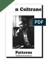 John Coltrane-John Coltrane Patterns-SheetMusicDownload