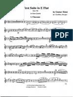 1st Suite In Eb - B5 - Holst - Bergler.pdf