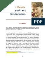 Margulis, L. - Darwin era un lamarckista.pdf
