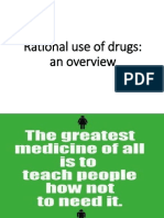 Rational Prescribing the Medicines to Patients