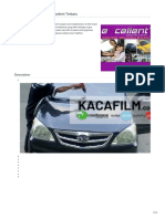 Pasang & Jual Stiker Kaca Film Merk Excellent ☎ 081 1154 2354 (Riky)