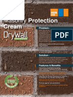 Waterproofing Brickwork Leaflet - PDF