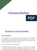 Grievamce Handling