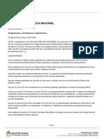 Mauricio Macri firmó el decreto que recorta gastos del Estado