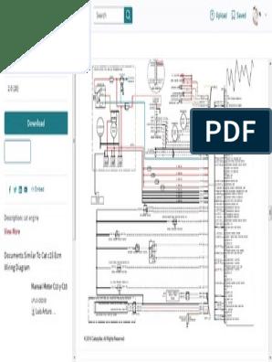 Cat c15 Ecm Wiring Diagram   Throttle   SwitchScribd