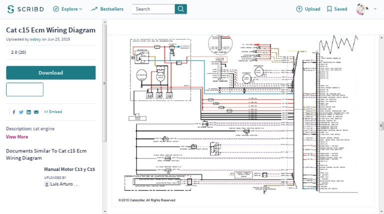 cat c15 ecm wiring diagram  throttle  switch