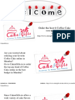 Order the best 6 Coffee Cake Now.pptx