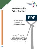 Report - Superconducting Wind Turbine