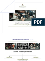 HFS Overview - Activist Investing Research
