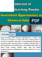 Production of Stable Bleaching Powder