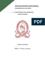 Física Tema 11 Trabajo y Energía Versión PDF