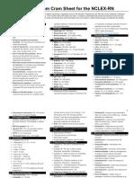 Nursing Exam Cram Sheet for the NCLEX-RN.pdf