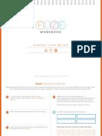 FUZE Name Your Brand Worksheet