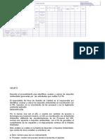 1.- Matriz de Aspectos e Impactos Ambientales - Polideportivo