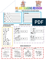Days Months and Seasons Revision