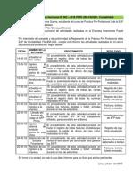 3er Informe Quincenal