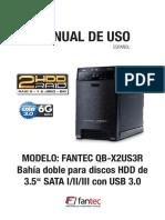 Manual en español Qb-x2us3r