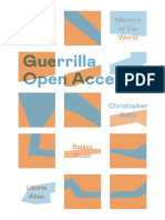 Guerrilla Open Access - Memory of the World