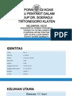 Laporan Pagi Koas IPD B20 25 5 2016