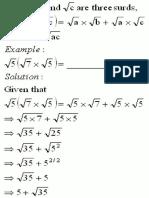 Grade IX Distributive Law