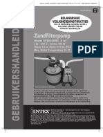 Intex Zandfilterpomp 4m3 Uur