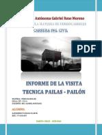 Informe Visita Tecnica - Alejandro Vargas Claros